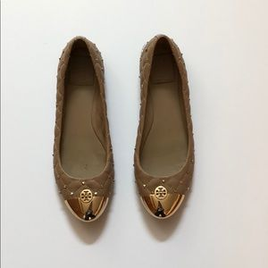 Studded Tory Burch Flats